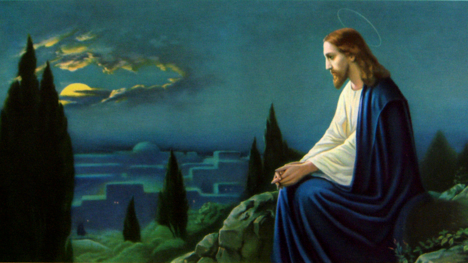 Jesus Getsemani Josef Untersberger