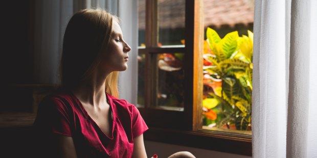 WOMAN WINDOW