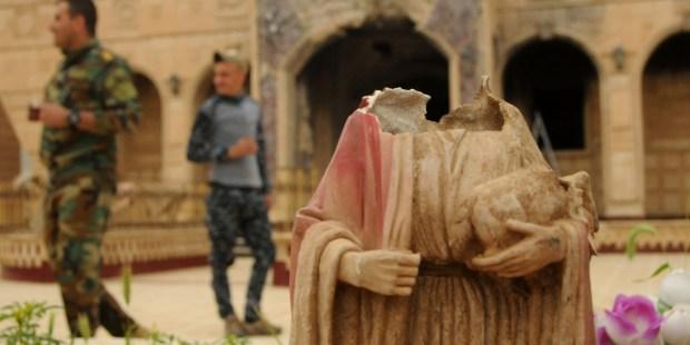 Iraque devastado pelo Estado Islâmico