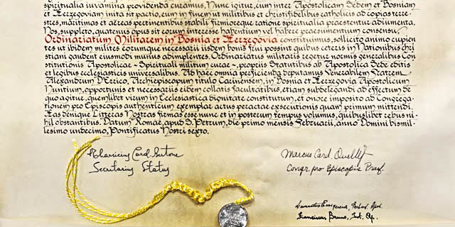 PAPAL DOCUMENT