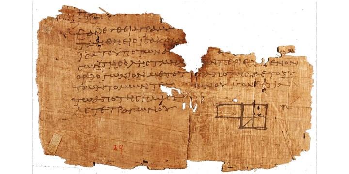 PAPYRUS,OXYRHYNCHUS