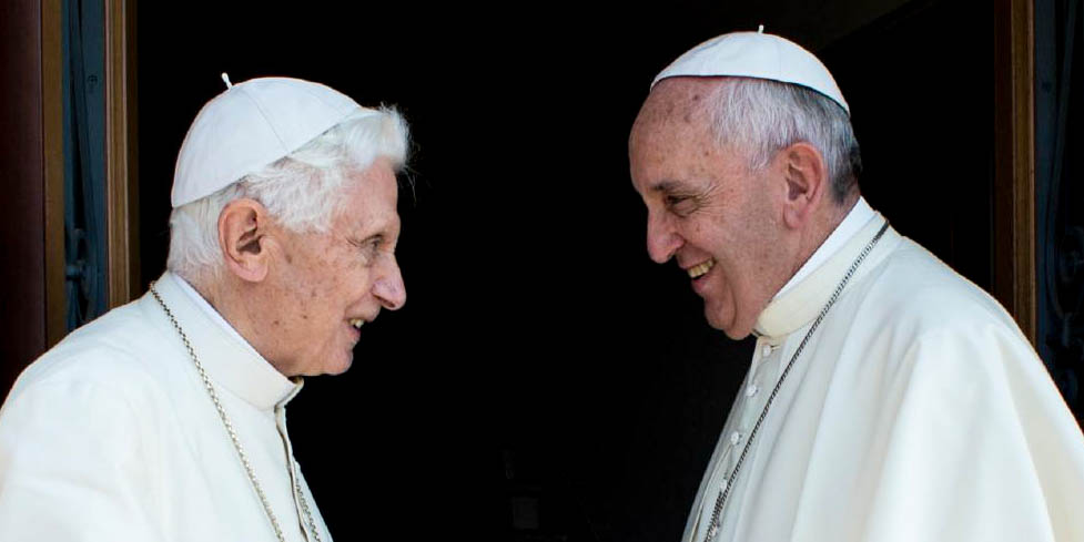 POPE FRANCIS,POPE BENEDICT