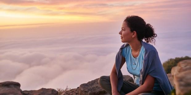 WOMAN MOUNTAIN