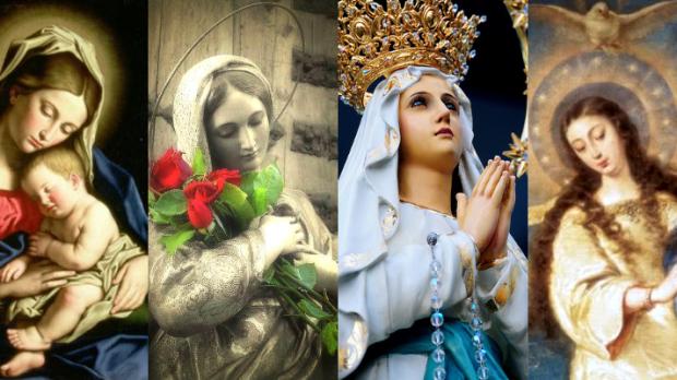 Os 4 dogmas de Maria também são títulos de Nossa Senhora