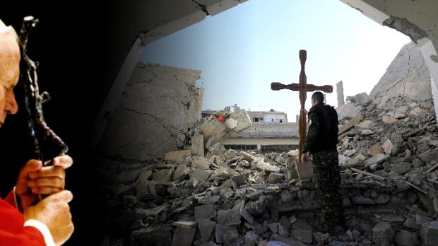São João Paulo II oração pela Síria