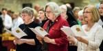 CATHOLIC,MASS,SINGING