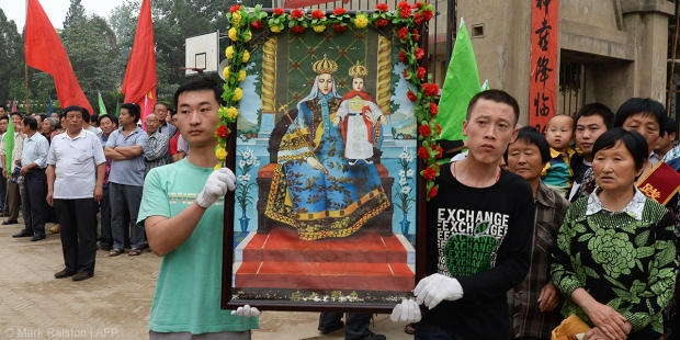 CHINA,BLESSED MOTHER