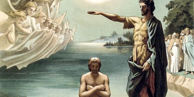 CHRIST,BAPTISM