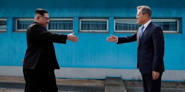 SPOTKANIE PRZYWODCÓW KOREI