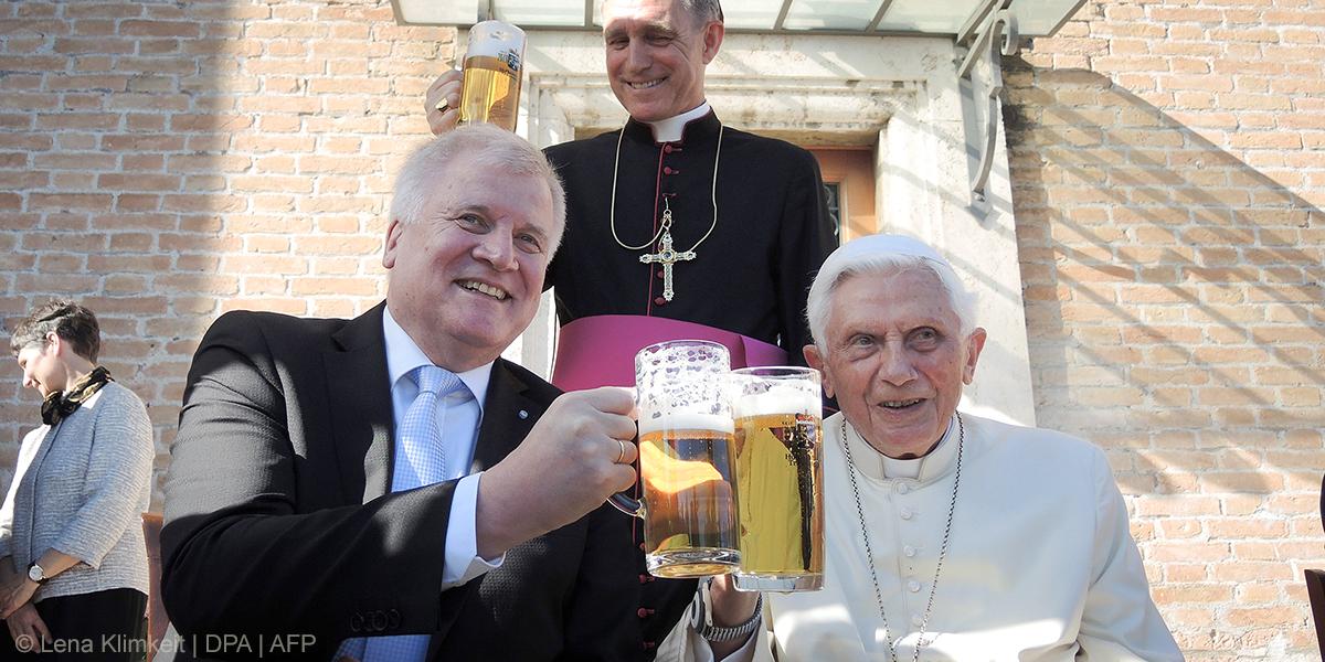 POPE BENEDICT,BIRTHDAY
