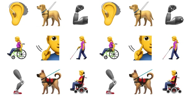 APPLE;DISABILITIES;EMOJIS