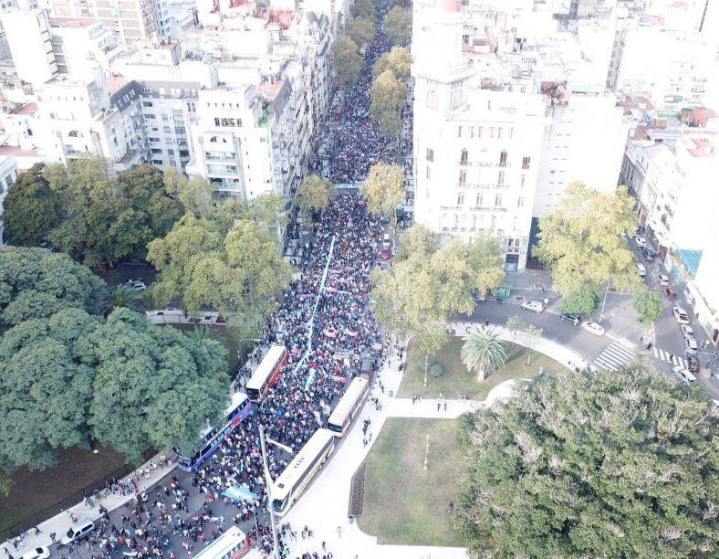 MARCH FOR LIFE,ARGENTINA