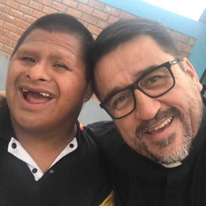 Pe. Omar Sánchez, da Associação das Bem-Aventuranças