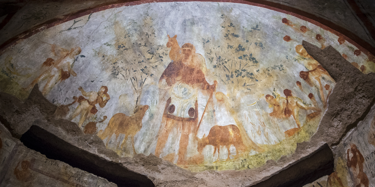 ST. DOMITILLA'S CATACOMBS