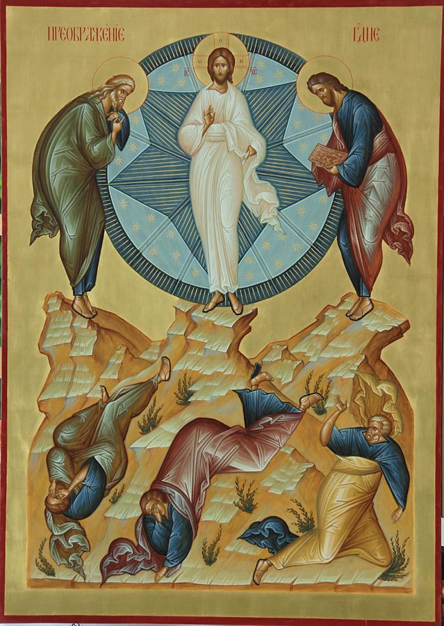 Ícone transfiguração