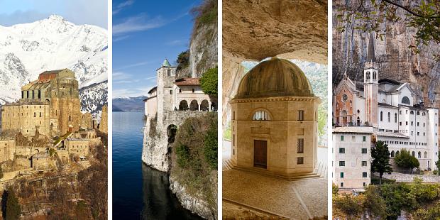 igrejas Itália rocha