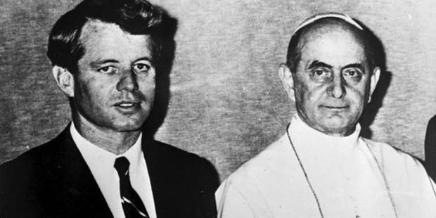 Robert Kennedy e Paulo VI