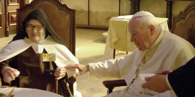 Irmã Lúcia, de Fátima, e o Papa São João Paulo II