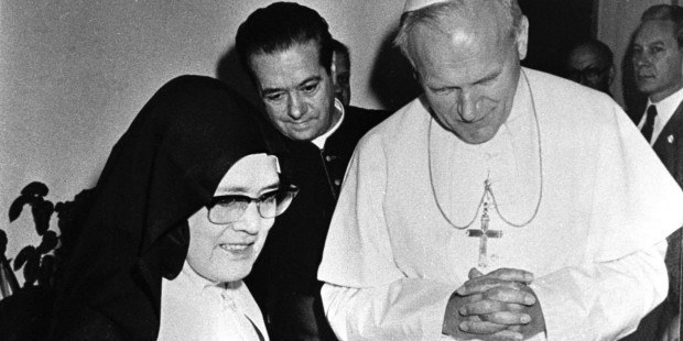 João Paulo II e Irmã Lúcia