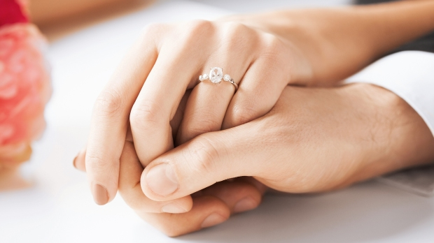 ENGAGEMENT,RING,HANDS