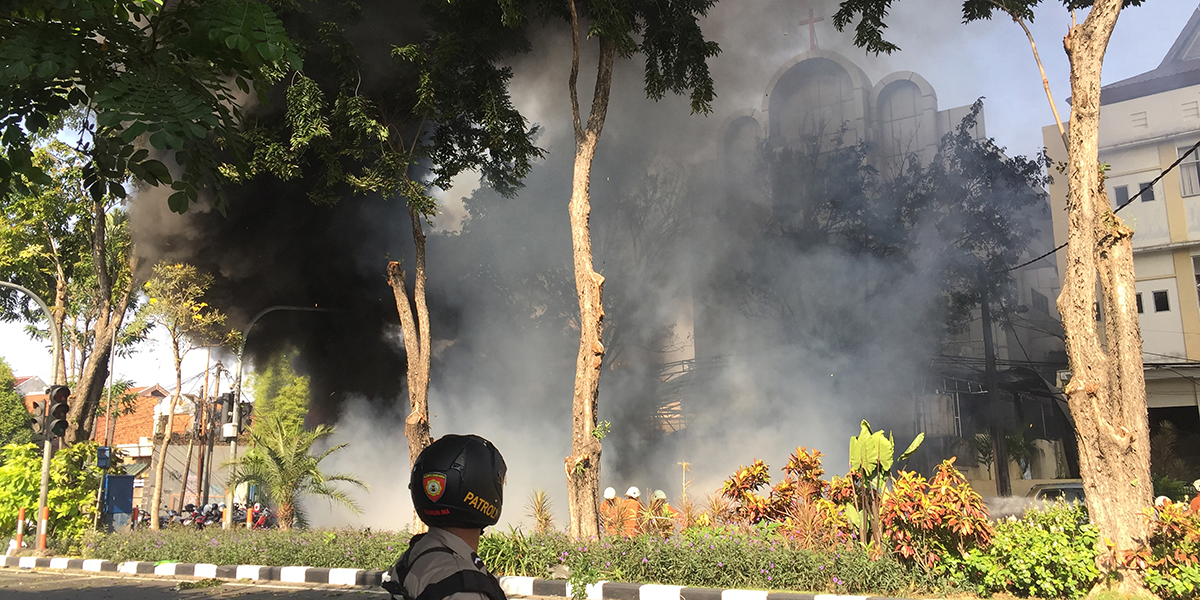 INDONESIA ATTACKS CHURCH
