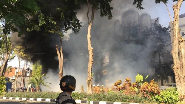 INDONESIA ATTACKS CHURCH