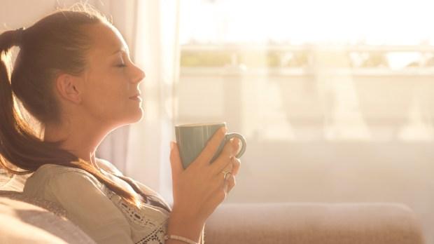 WOMAN,MORNING,PRAYER