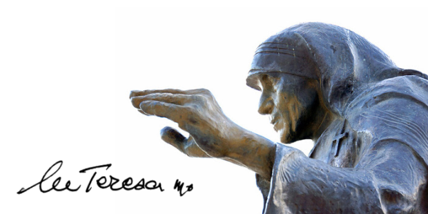 Madre Teresa assinatura