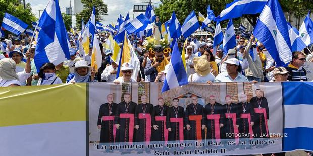 Nicarágua a favor dos bispos