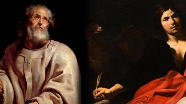 São Pedro e São João Evangelista