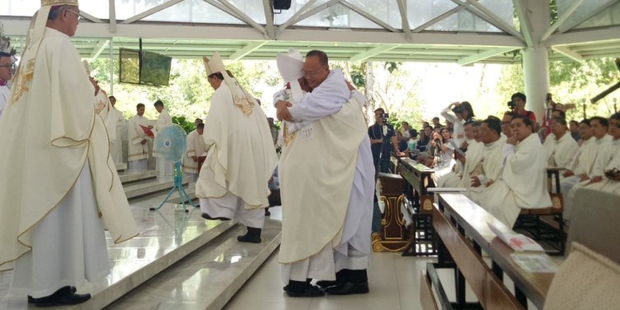 FR LAMBERTO RAMOS,ORDINATION