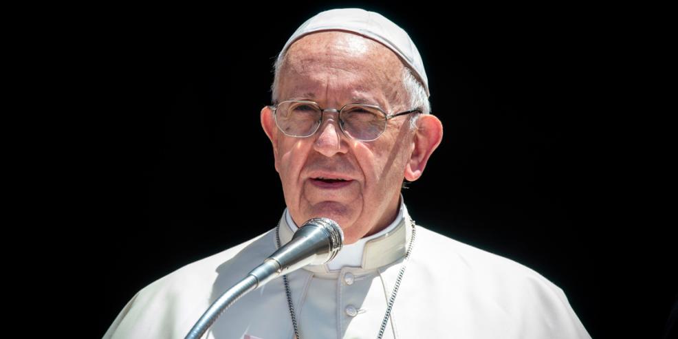POPE FRANCIS,SPEAKING