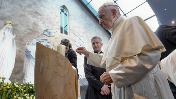 POPE FRANCIS;KNOCK SHRINE;MMWMOF