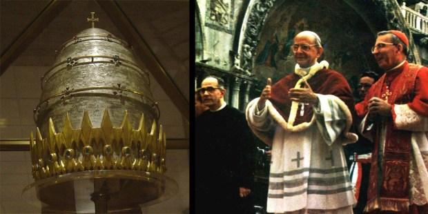 POPE PAUL VI,PAPAL TIARA