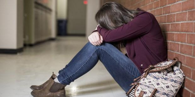 TEENAGE, GIRL, STRESS