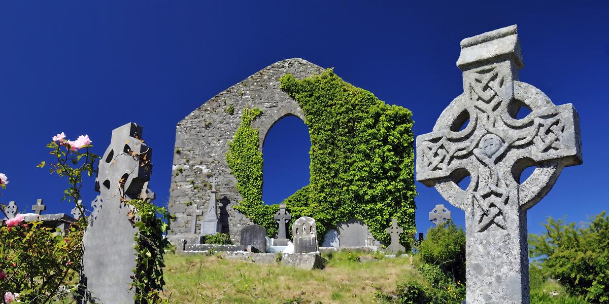 Irlanda e seus símbolos católicos