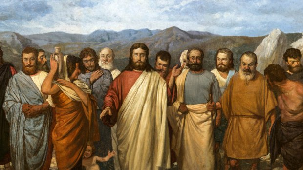 CHRIST WITH DISCIPLES