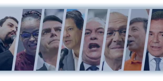 candidatos eleição Brasil