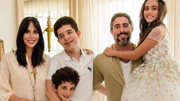 Celebridades e filhos com necessidades especiais: Marcos Mion e família