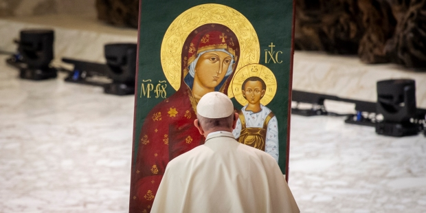 Papa Francisco e Maria