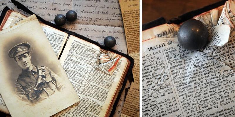 George Vinall Bible Society I Guerra Mundial