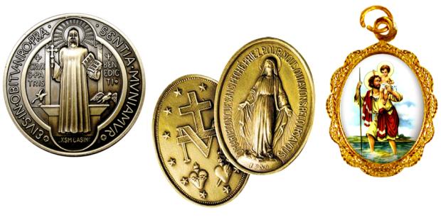 medalhas devocionais