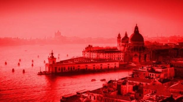venezia in rosso