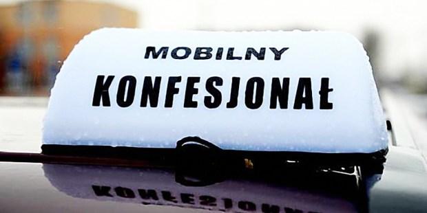Confessionário móvel