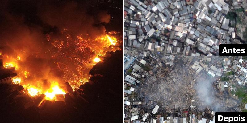 Incêndio Manaus