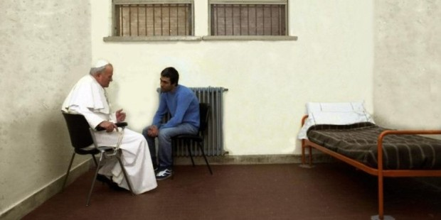 Papa João Paulo II e Ali Agca