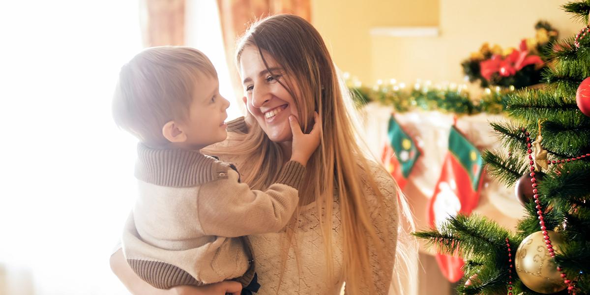 MOTHER CHILD CHRISTMAS