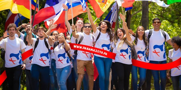 CATHOLIC YOUTH,WYD,PANAMA