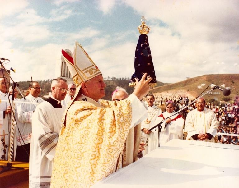 São João Paulo II Brasil Aparecida