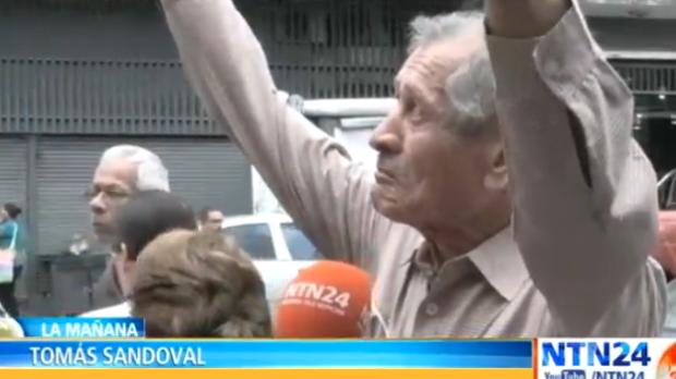idosos Venezuela